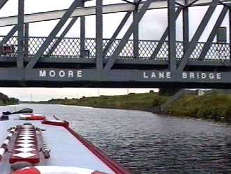 Moore Lane swing bridge